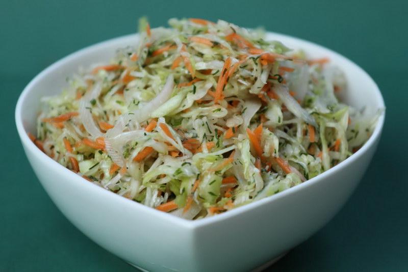 Рецепт с фото легких салатов