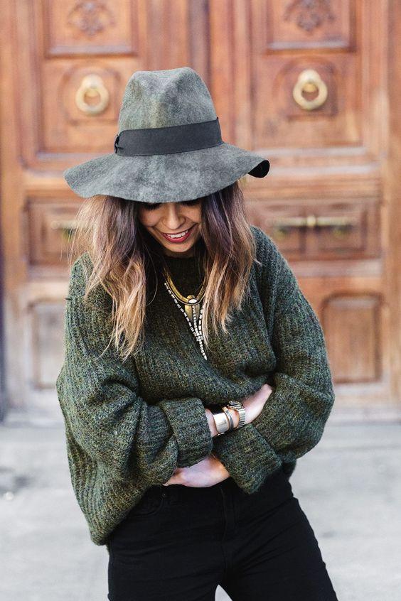 Как носить шляпку? Фото