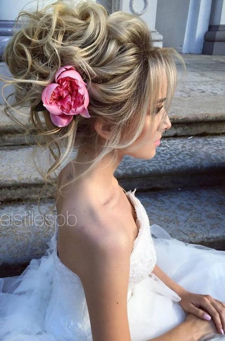 свадебные прически эль стайл