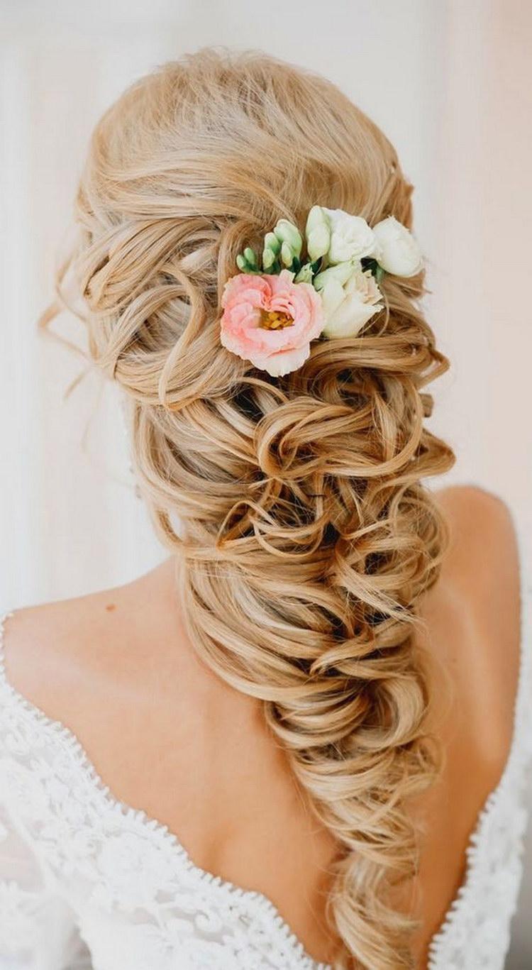 Свадебные прически в виде кос фото