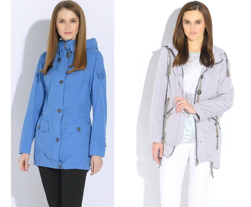 Модные куртки весна 2017 женские