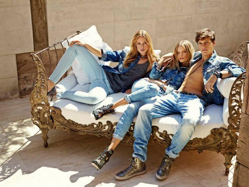 Модные мужские и женские джинсы 2017