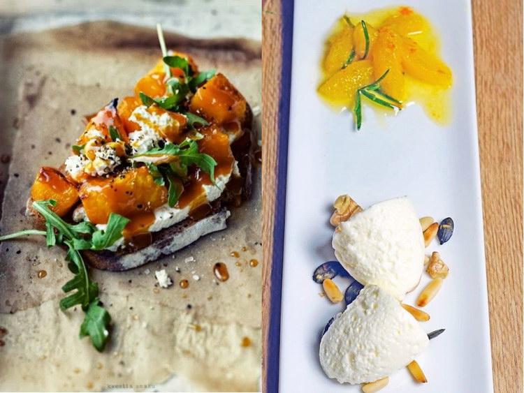 блюда из творога и тыквы рецепты