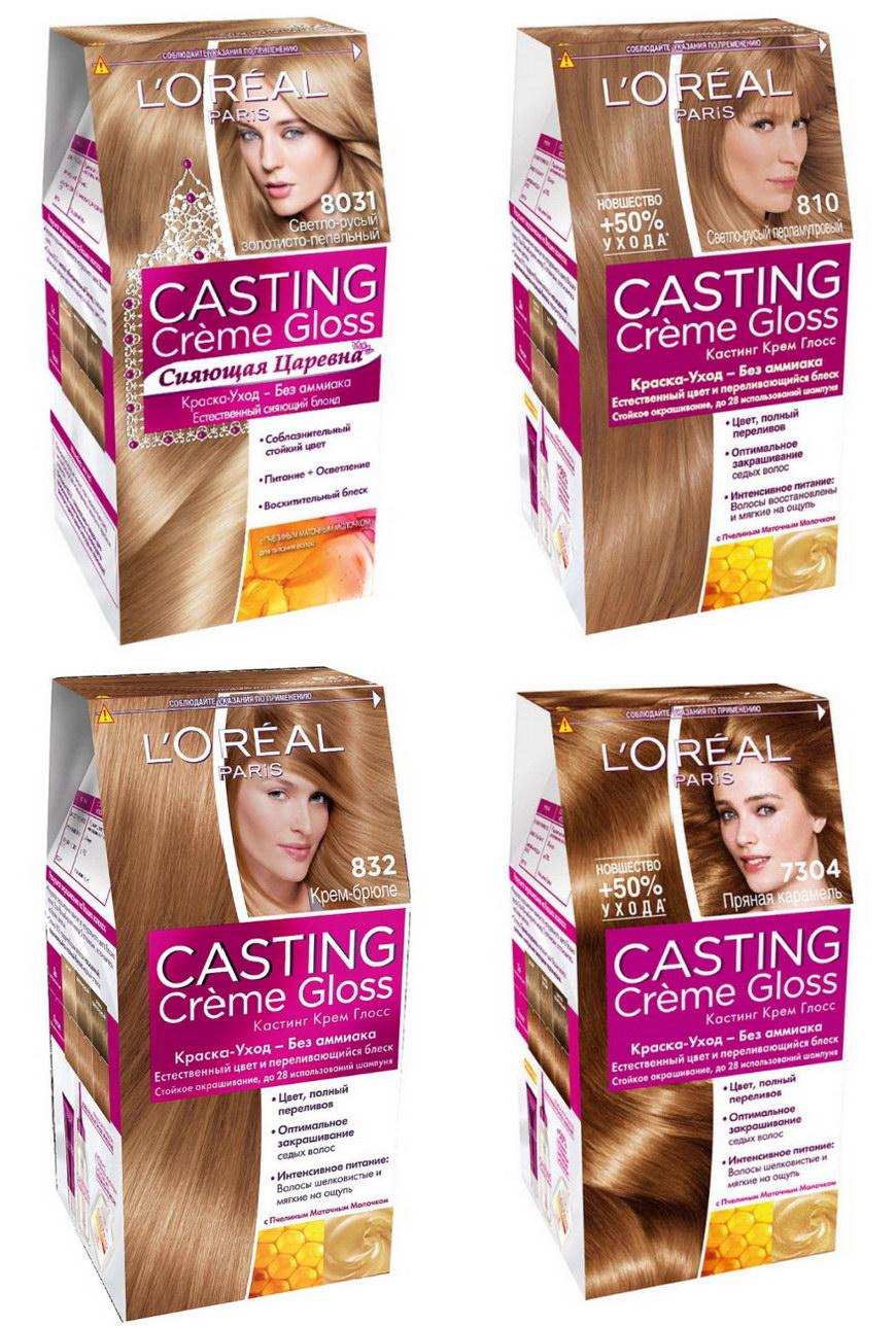 Оттенки краски для волос