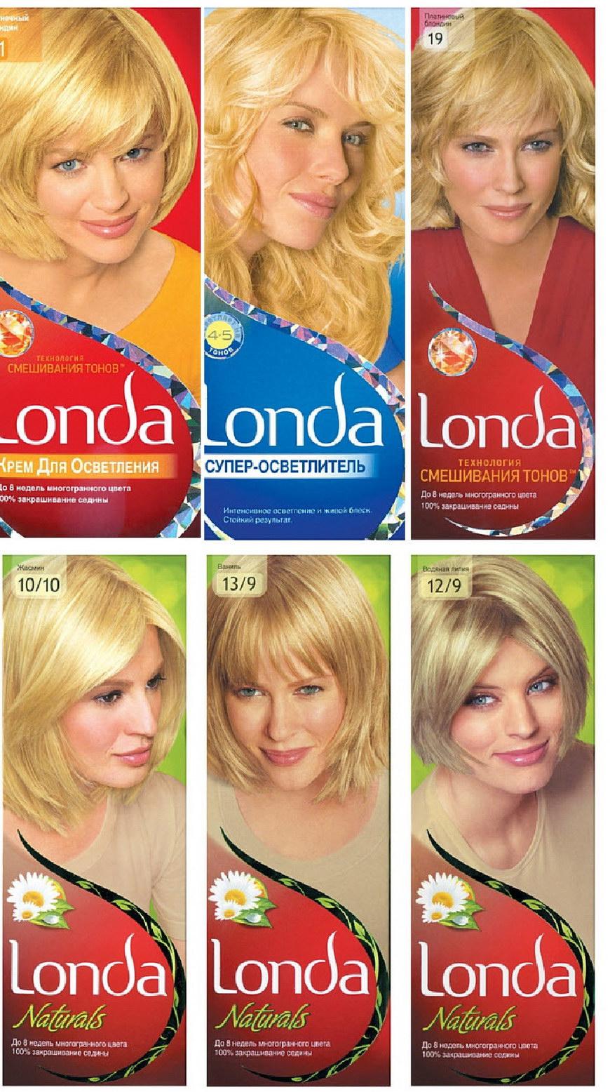 Лонда колор цвета для седых волос