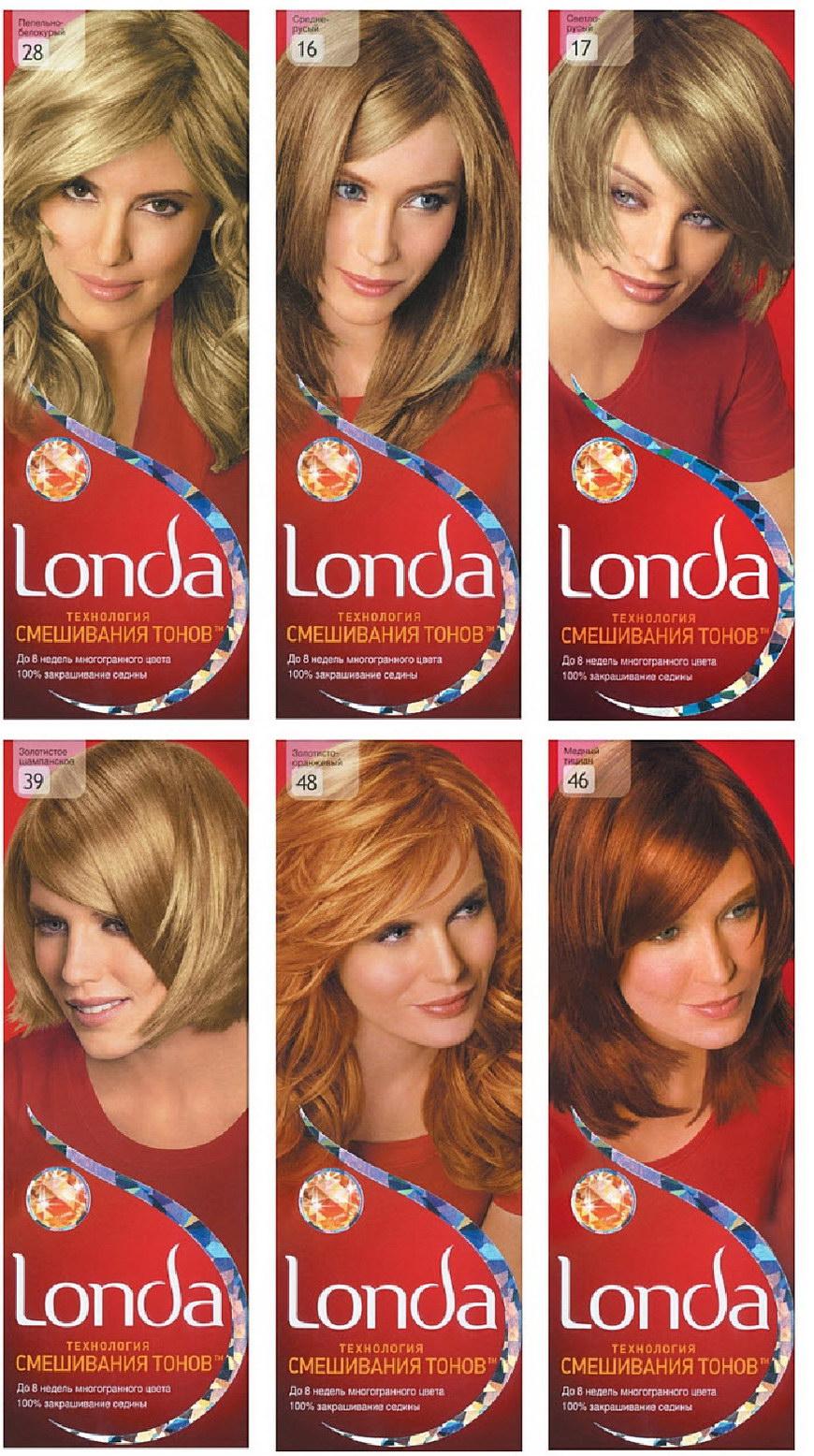 Краска для волос лондаколор палитра цветов фото на волосах