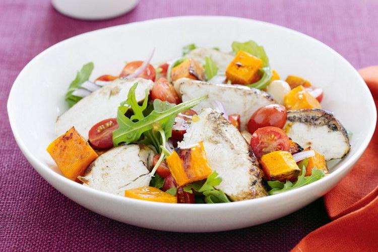 салат из отварной грудки вкусный рецепт