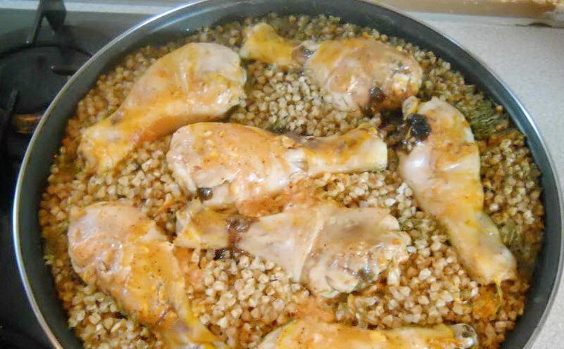 Приготовить вкусно гречку в духовке