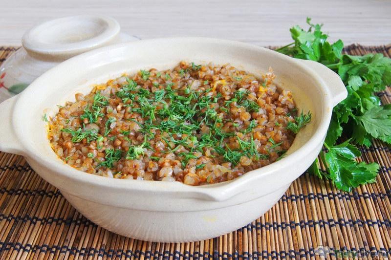 Хитрощі приготування смачної гречки в духовці   рецепти