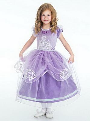 Фото платьев для девочек принцесс