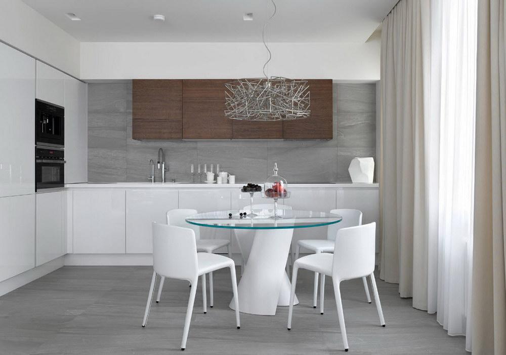 Дизайн жалюзи на кухню горизонтальные фото
