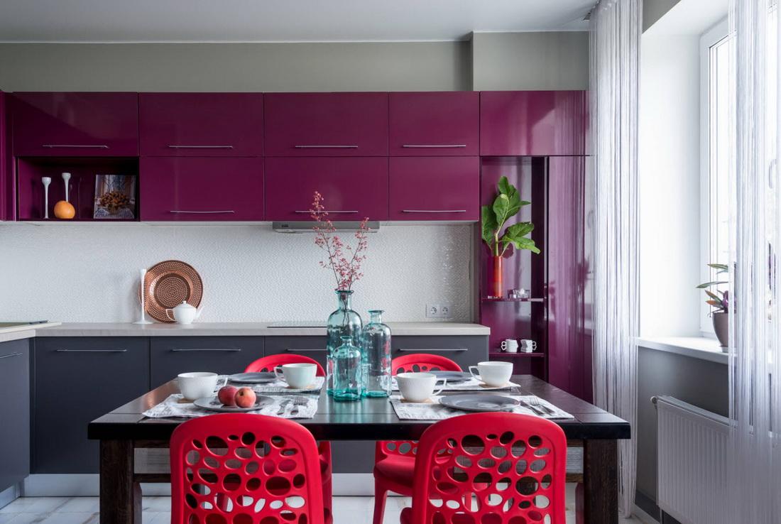 цвет стен кухни сочетание цветов фото огромный
