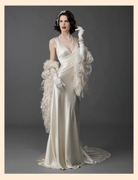 Длинное платье в стиле стиляг