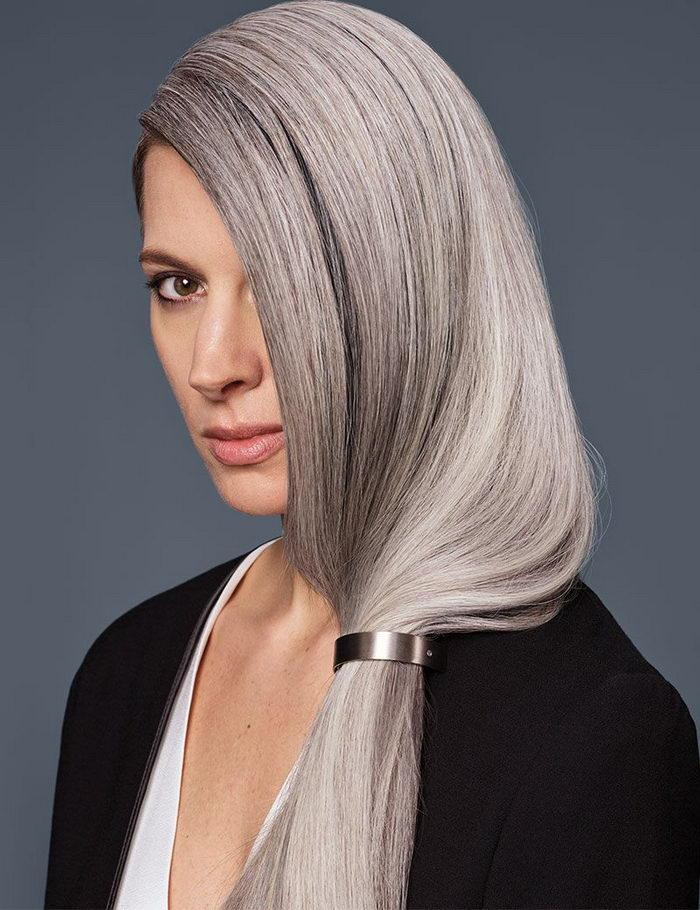 придумала как лучше покрасить седые волосы фото судне есть несколько