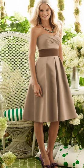 Платье до колен