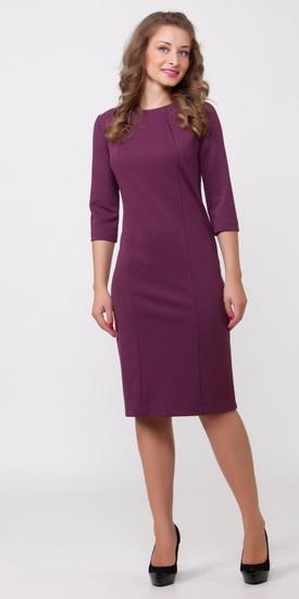 Женские классические платья до колена фото