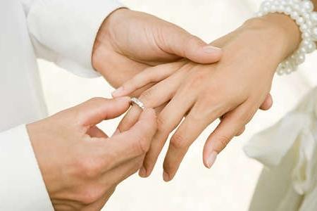 На какую руку одевают обручальное кольцо девушке в россии
