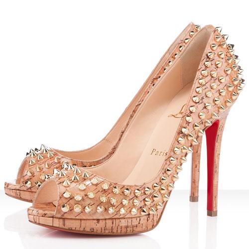 Туфли с шипами