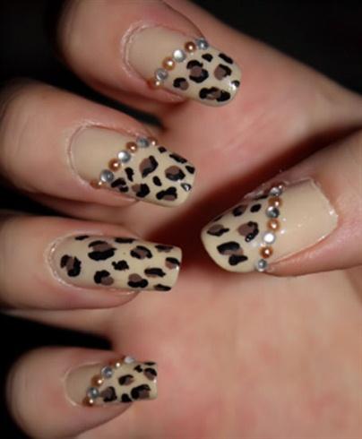 леопардовые ноги фото