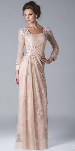 Нарядные платья длинный рукав на
