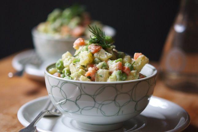 Салат Оливье - классический рецепт