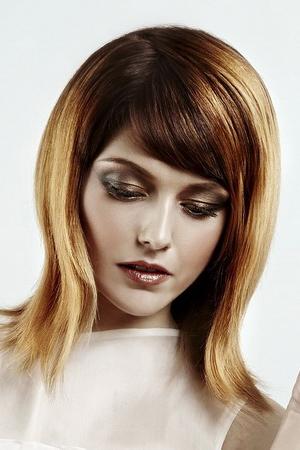 омбре на волосах