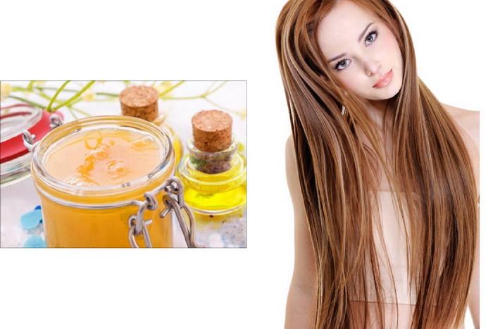 Маска для волос репейное масло касторовое оливковое масло