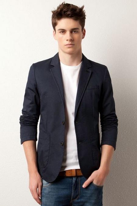 Пиджак под джинсы фото