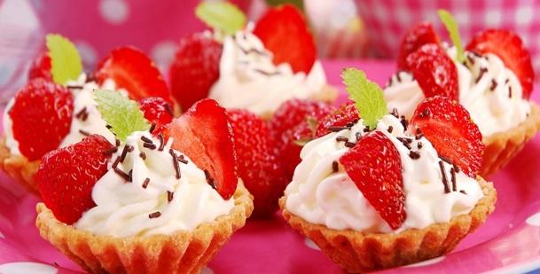Десерты с клубникой