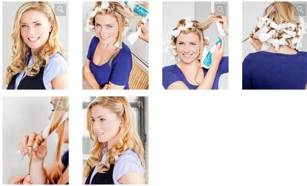 Как сделать красивую накрутку волос