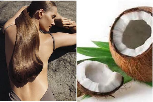 Кокосове масло для волосся - ефект і відгуки