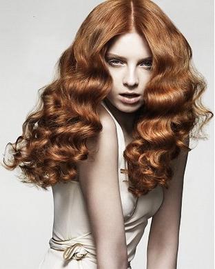 Волосы от природы волнистые
