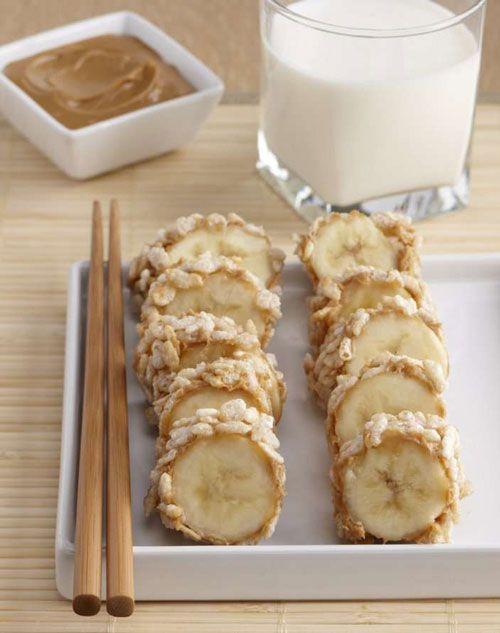 Бананы на десерт