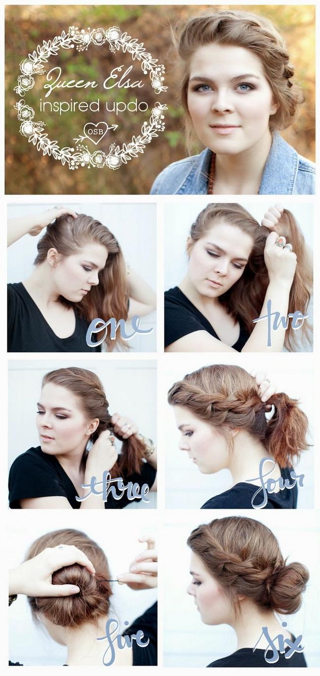 Плетение средних волос - <u>средних</u> фото и видео