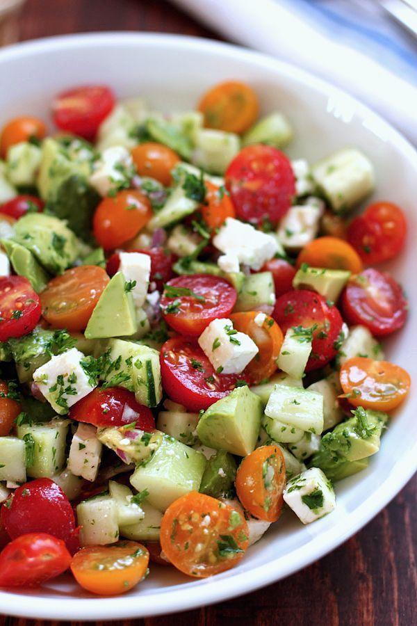 рецепты салатов из перца с сыром