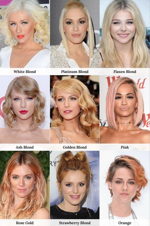 Світла фарба для волосся