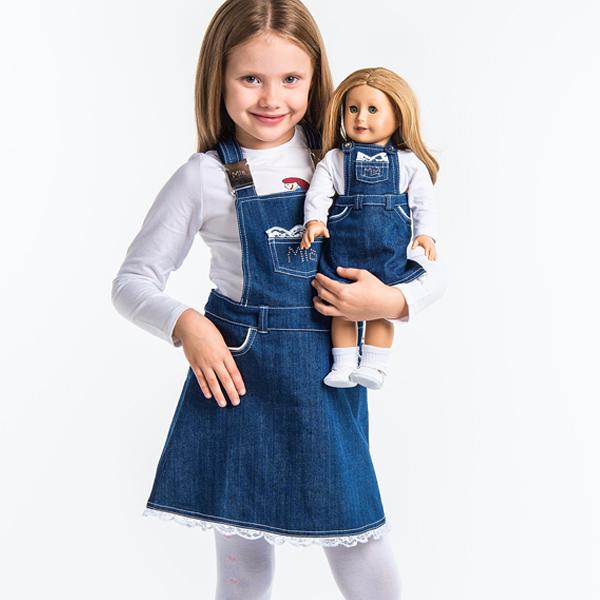Сарафан джинсовый для девочки - шьем самостоятельно
