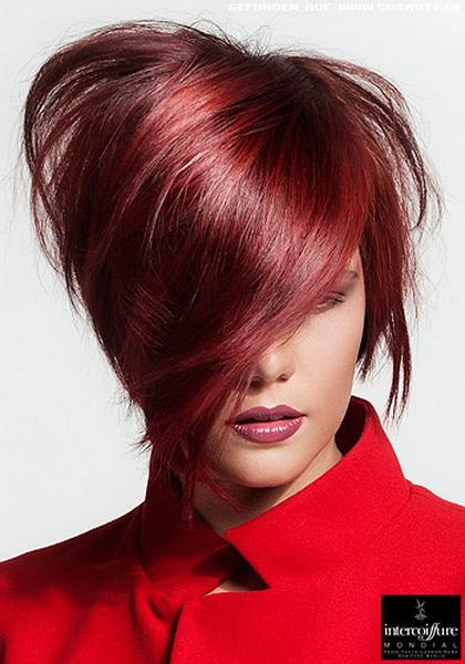 Жен стрижки на средние волосы